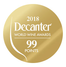DWWA 2018 Gold 99 Points - Printed in rolls of 1000 stickers