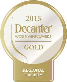DWWA 2015 Regional Trophy Bottle Stickers - Roll of 1000