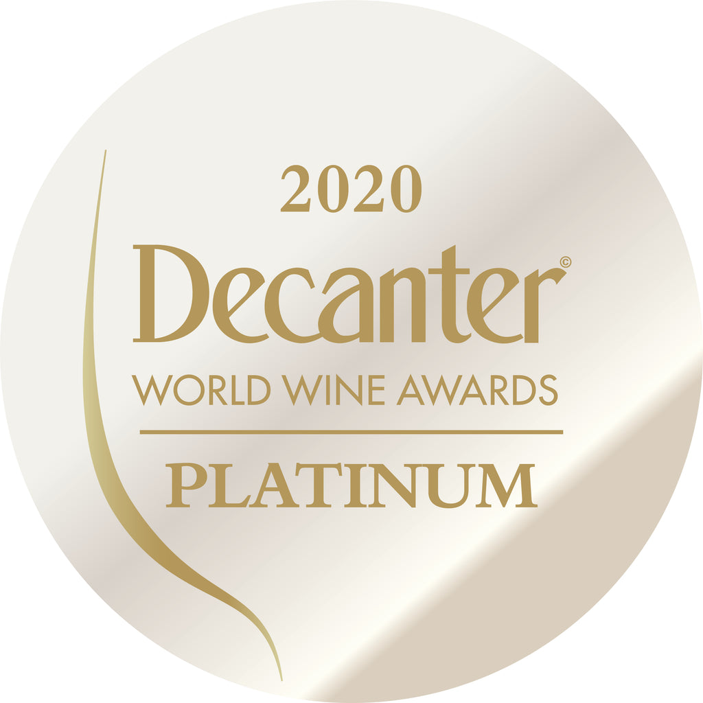 DWWA 2020 Platinum GENERIC - Printed in rolls of 1000 stickers