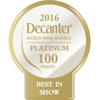 DWWA 2016 Platinum Best in Show 100 Points - Roll of 1000
