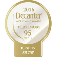 DWWA 2016 Platinum Best in Show 95 Points - Roll of 1000