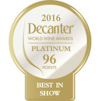 DWWA 2016 Platinum Best in Show 96 Points - Roll of 1000