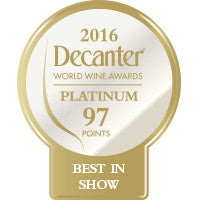 DWWA 2016 Platinum Best in Show 97 Points - Roll of 1000