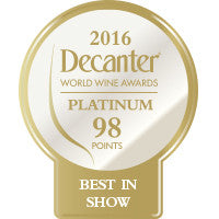 DWWA 2016 Platinum Best in Show 98 Points - Roll of 1000