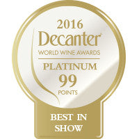 DWWA 2016 Platinum Best in Show 99 Points - Roll of 1000