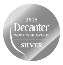 DWWA 2018 Silver GENERIC - Printed in rolls of 1000 stickers