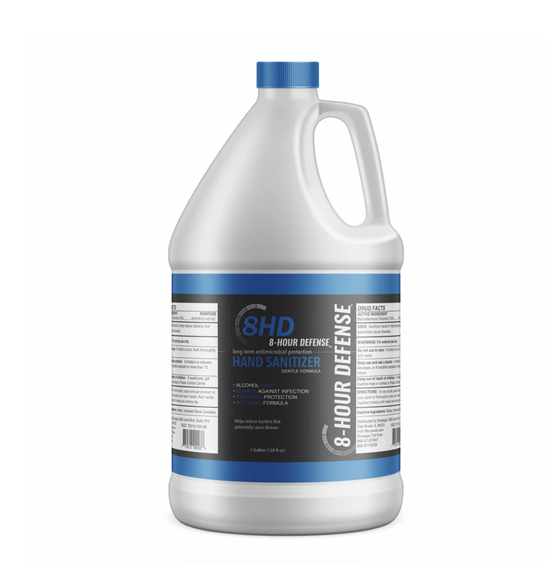 microSURE™ 8-Hour Defense Hand Sanitizer 1-Gallon jug