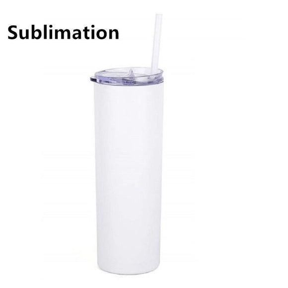 20 OZ SKINNY SUBLIMATION TUMBLER