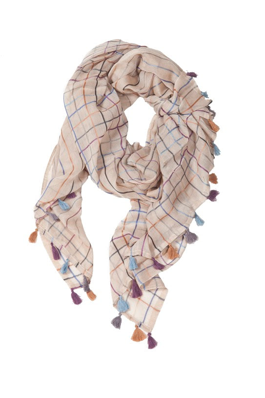 TILO - Summer Check Scarf