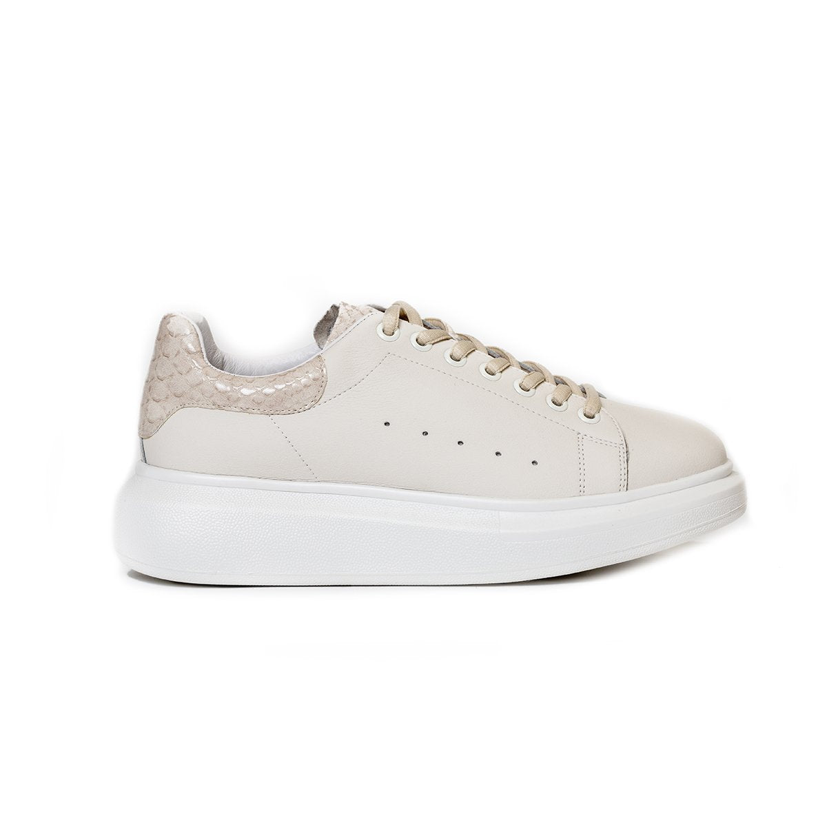 ATELIERS - Koby Lace up Leather Sneaker