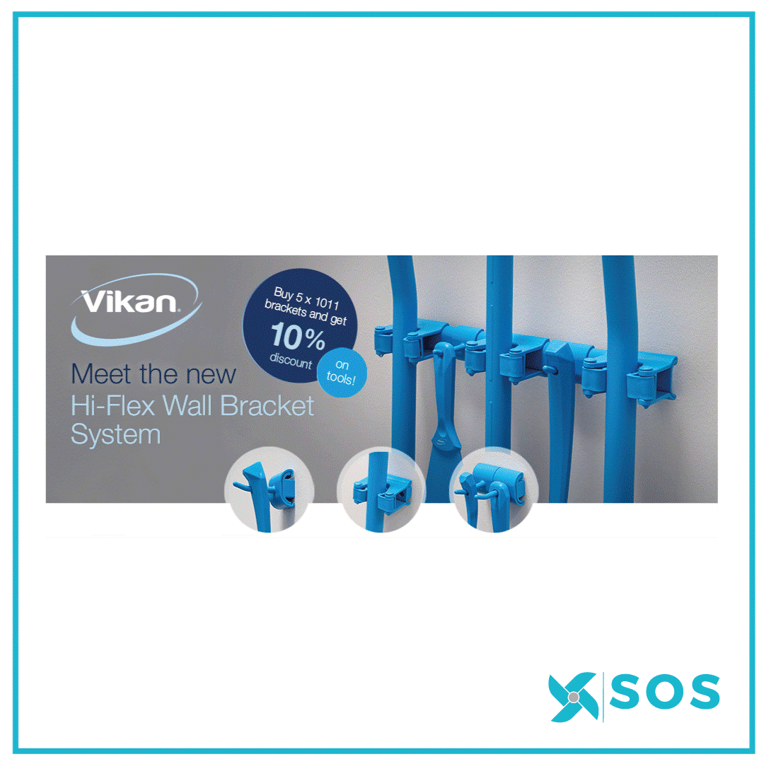 Introducing the Vikan Cleaning Tool Range for the Food & Beverage Industry