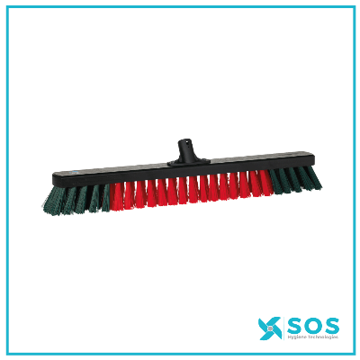 VIKAN Garage Broom, FSC 100% NC-COC-059222, 665mm, Hard, Wood