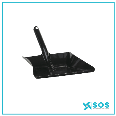 VIKAN Dustpan Metal, 245mm, Black