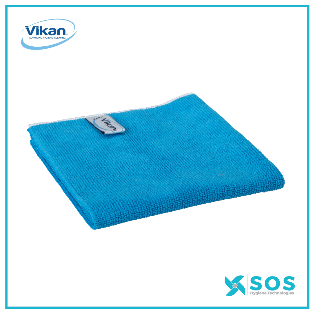 Basic Vikan microfibre cloth, 32 x 32 cm