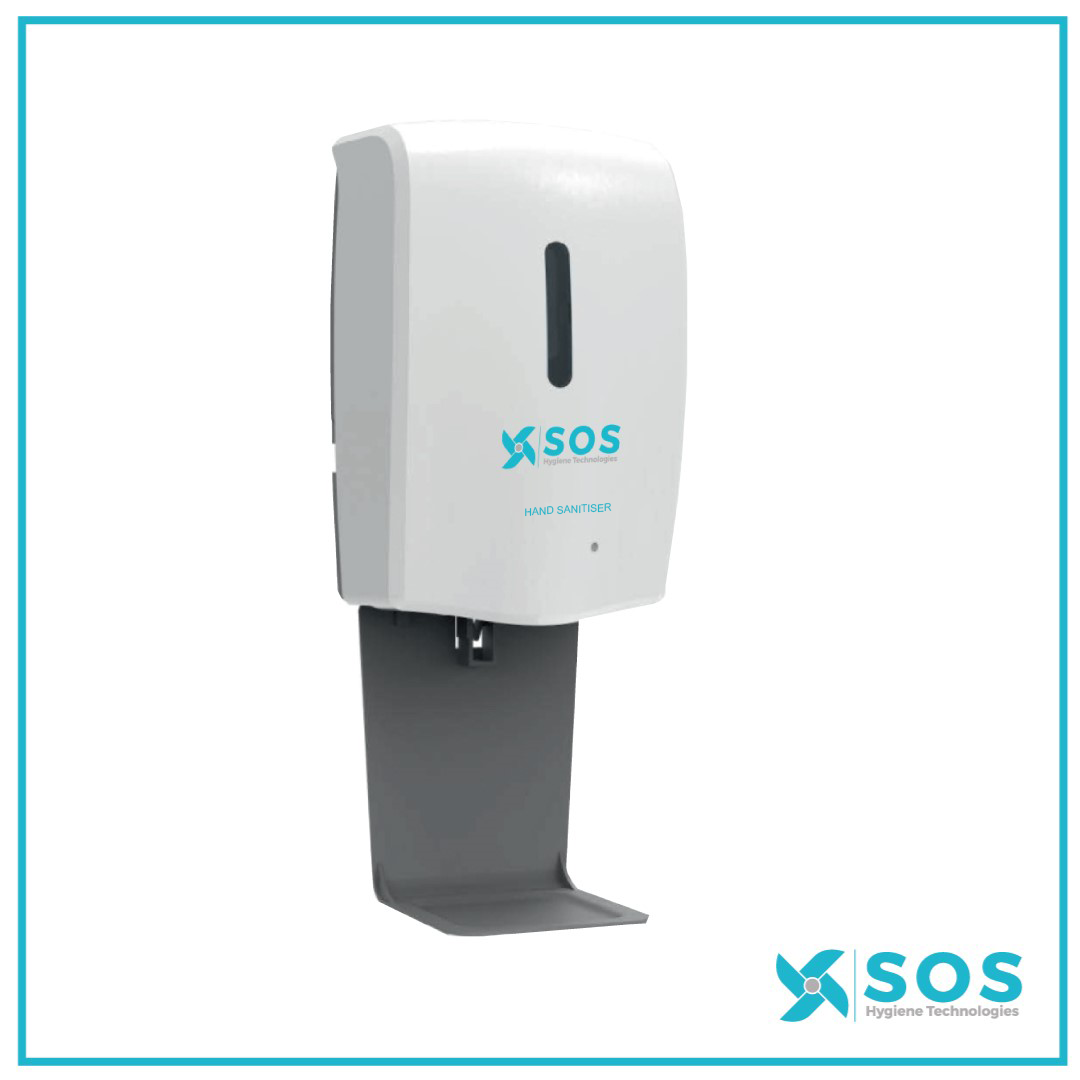 SOS Automatic Gel Hand Sanitiser Dispenser 1L Refill