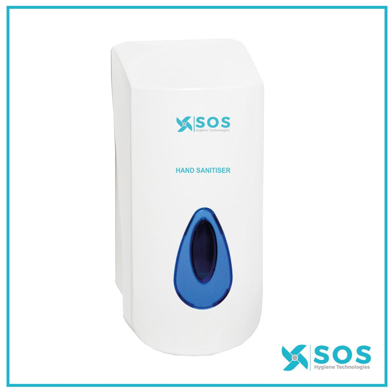 SOS Hand Sanitiser Gel Reservoir Dispenser 900ml Refill