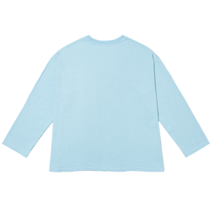 LONG T-SHIRT blue