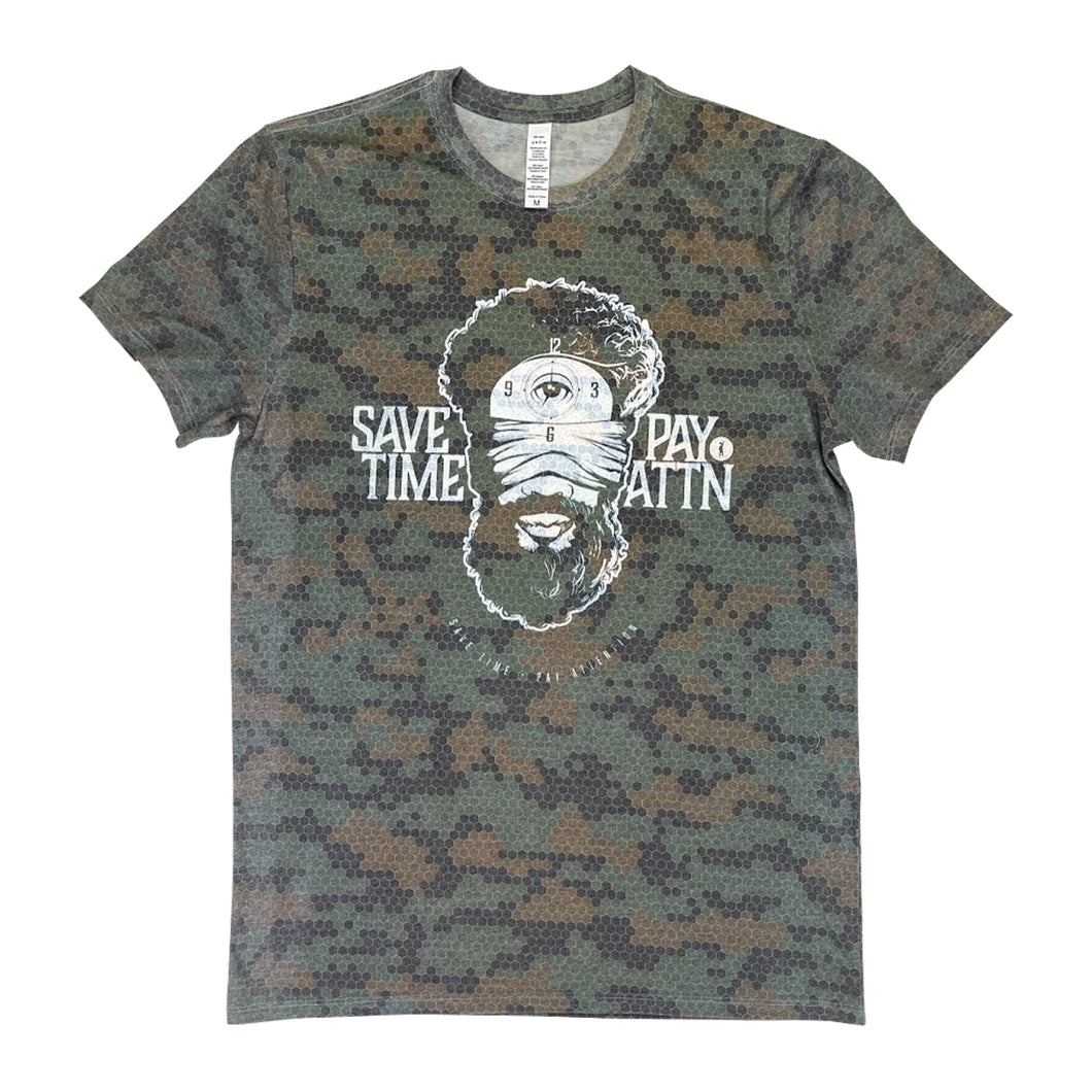 Save Time Pay Attn Camofuture