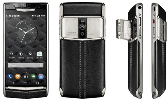 vertu signature touch specifications