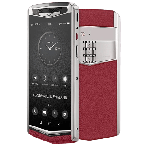 vertu aster p raspberry red