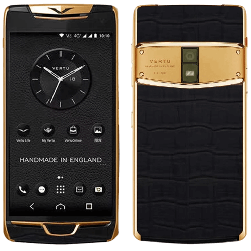 vertu constellation x black alligator