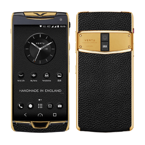 vertu constellation x jet black gold