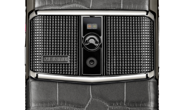 vertu signature touch clous de paris black alligator