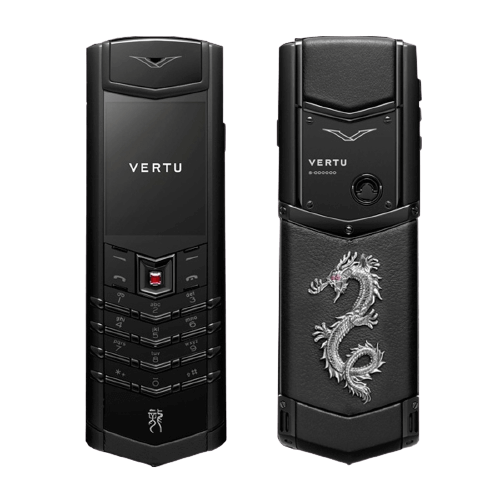 vertu signature year of the dragon edition pure black
