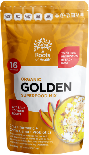 Organic Golden Superfood Mix (+Probiotics)