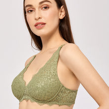 Load image into Gallery viewer, Lace Plunge Wirefree Nursing Bra