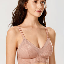 Load image into Gallery viewer, Dot Mesh Nursing Bralette