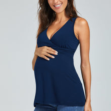 Load image into Gallery viewer, Maternity/Nursing V Neck Top