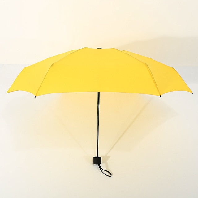 Multi Color Portable, Lightweight Outdoor Sun & Rain Umbrellas w/UV Protection and Windproof