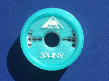 Load image into Gallery viewer, Top view of an Aqua SphinxGadget.