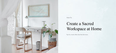 Create a Sacred Workspace at Home