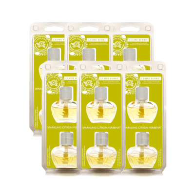 Sparkling Citron Verbena Electric Fragrance Warmer Refill 6-Pack