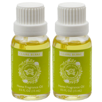 Sparkling Citron Verbena Home Fragrance Oil 15ml - 2 Pack