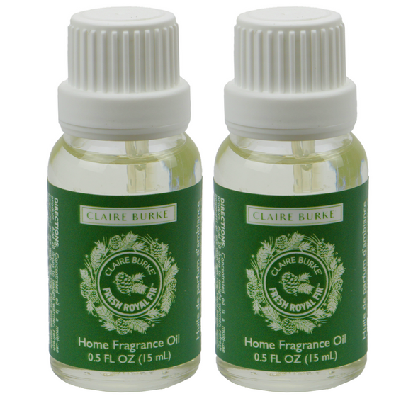 Fresh Royal Fir Home Fragrance Oil 15ml - 2 Pack