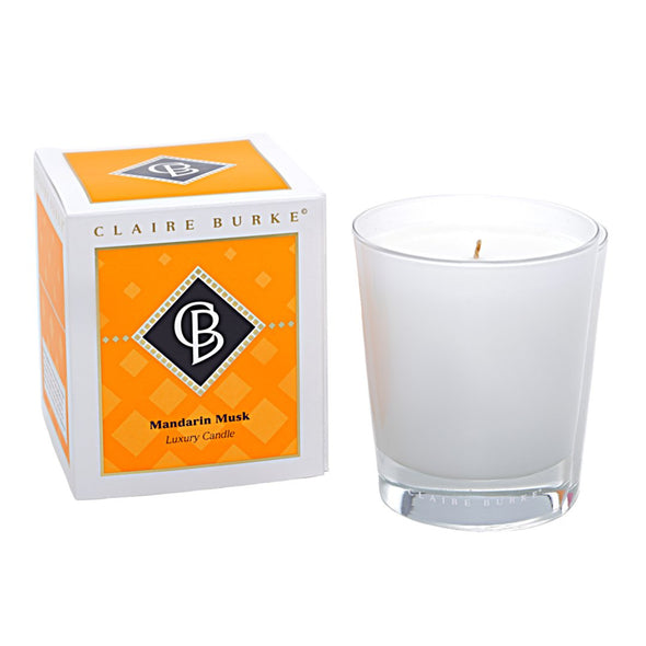 Diamond Collection Mandarin Musk Luxury Candle