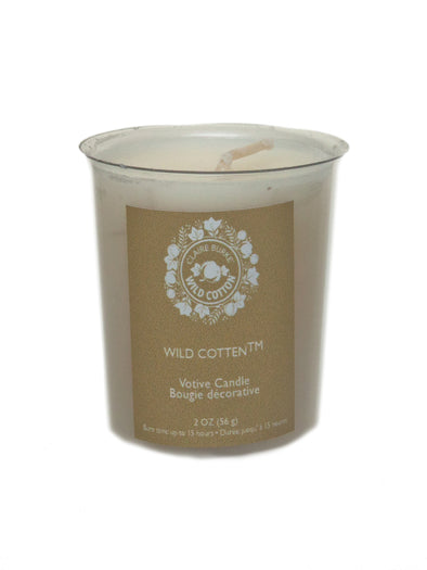 Wild Cotton Votive Candle