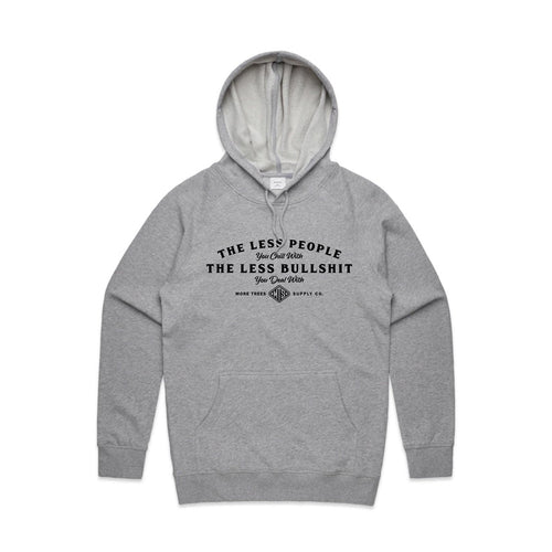 Less People Premium Mid-weight Pullover Hoodie