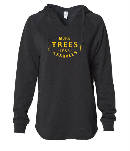 More Trees Women's Pullover Hoodie
