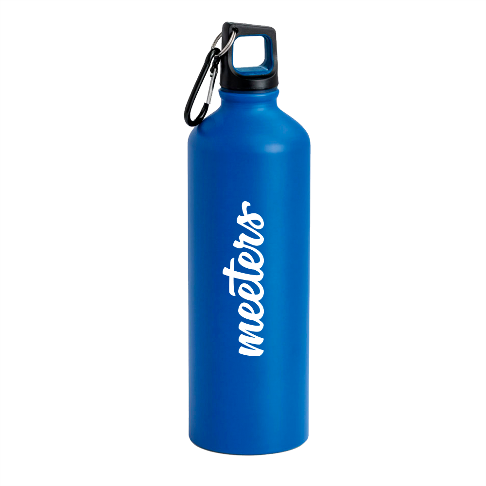 Borraccia 800ml Blu - Meeters
