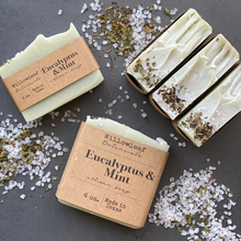 Load image into Gallery viewer, Eucalyptus & Mint Vegan Bar Soap