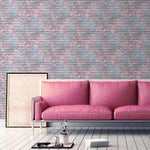 WL3388506m Fun and funky, colourful brick effect, for boys and girls rooms
