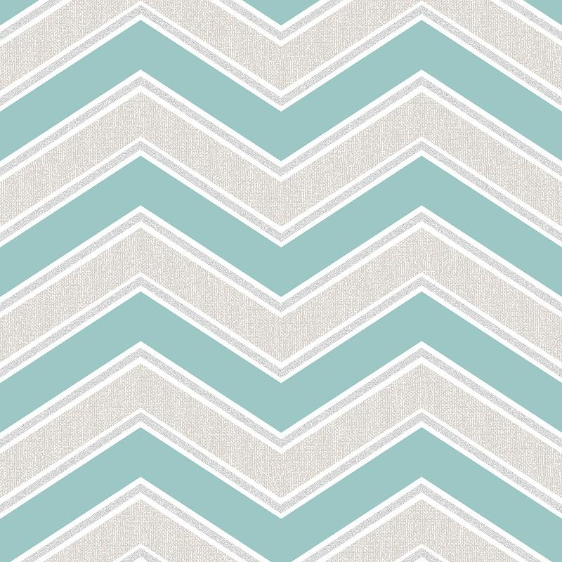 WM117745C A crisp modern look that instantly catches the eye. Following a popular Scandinavian geometric trend, this zig-zag chevron design creates a fresh and inviting vibe in any room.