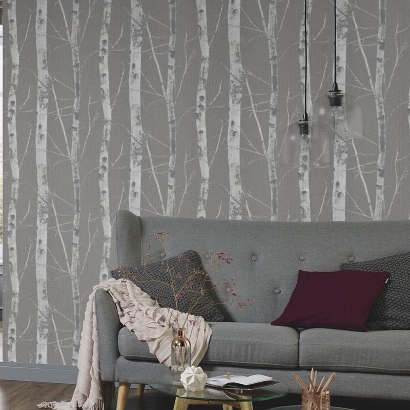 n54300310e Paste the wall stylish tree design with glitter highlights