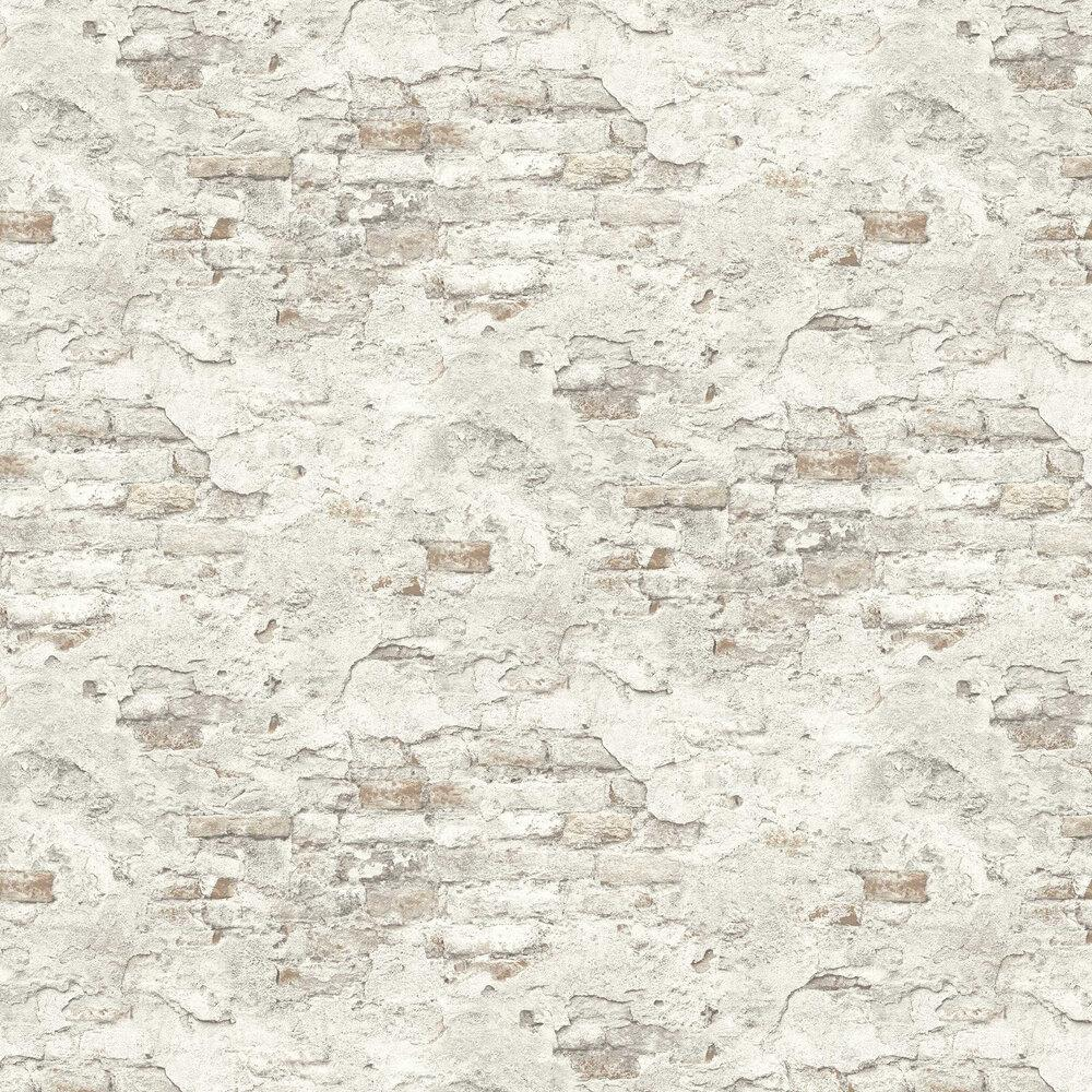 n93900316r Contemporary rustic 3D brick effect paste the wall product in grey