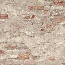 n93911323r Contemporary rustic 3D brick effect paste the wall product