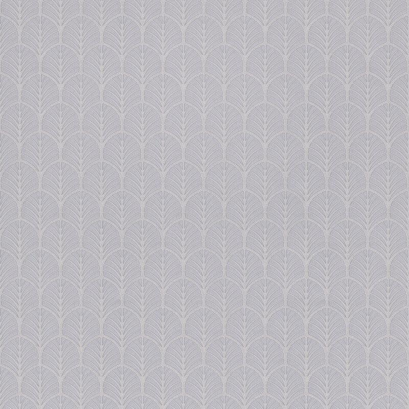 nv350004g 'Easy-hang', paste the wall, vinyl. Delicate flame motif on a grey backdrop.